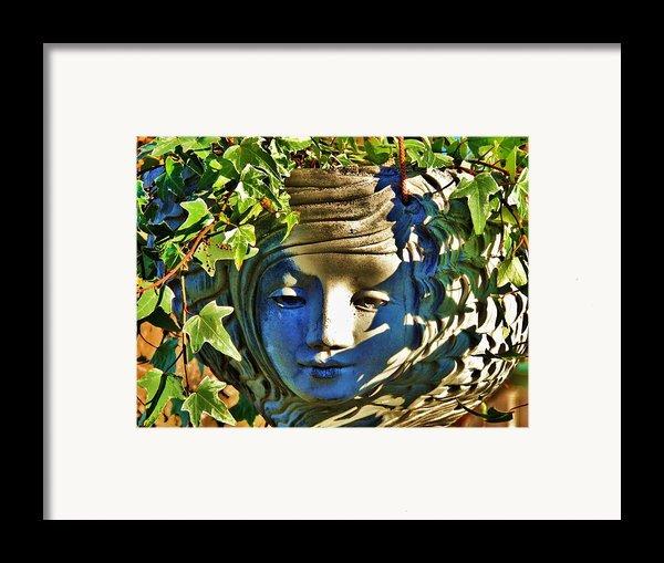 Told In A Garden Framed Print By Helen Carson