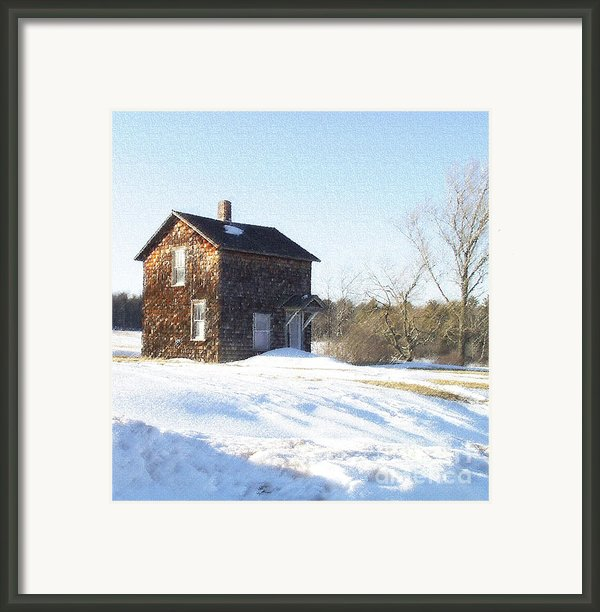 Toll House Framed Print By Andrew Govan Dantzler