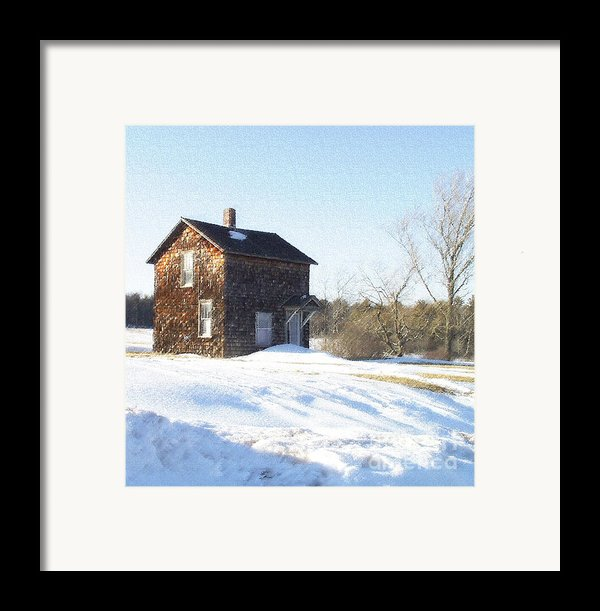 Toll House Framed Print By Andrew Govan Dantzler