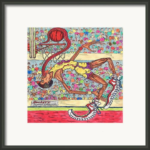 Tongue Jam Framed Print By Richard Hockett