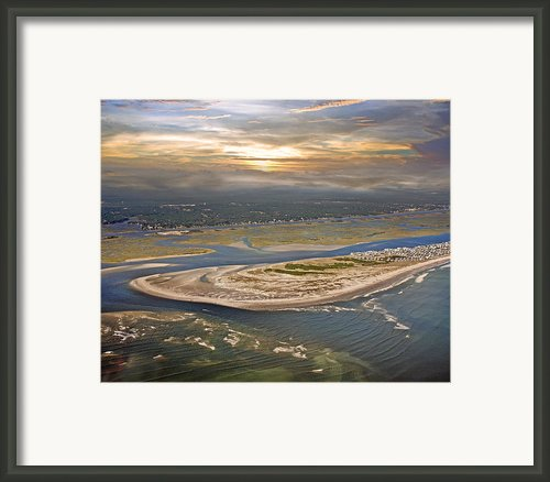 Topsail Island Paradise Framed Print By Betsy A Cutler East Coast Barrier Islands