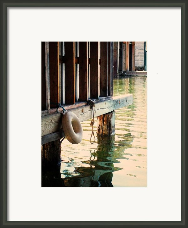 Torch River Bayou Framed Print By Michelle Calkins