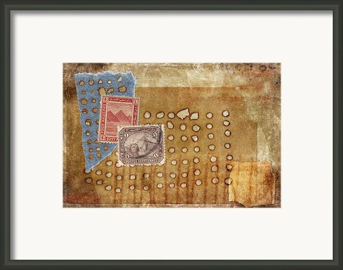 Torn And Burned Framed Print By Carol Leigh
