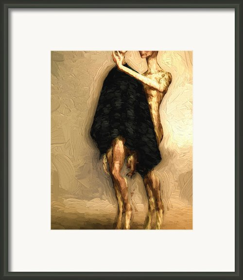 Touch Framed Print By Bob Orsillo