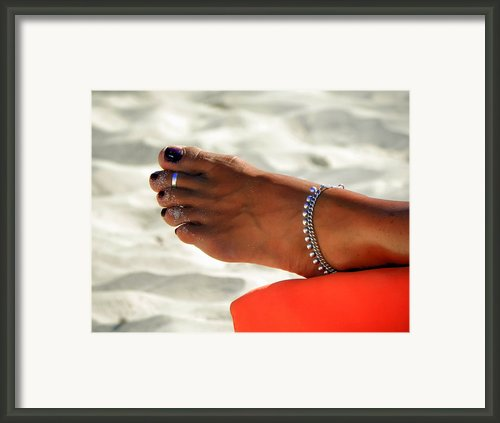 Touch Of Sun Framed Print By Karen Wiles