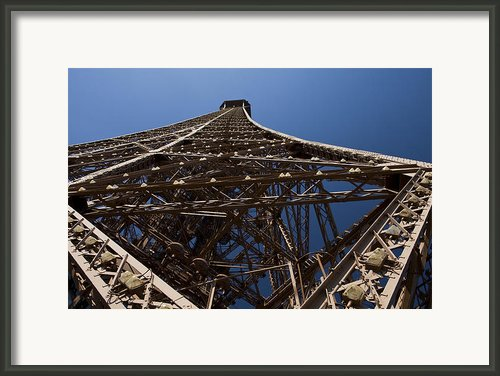 Tour Eiffel 7 Framed Print By Art Ferrier
