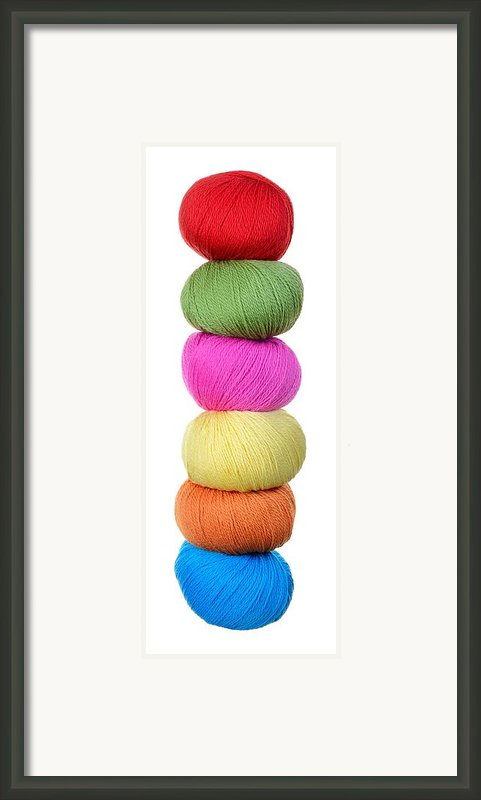 Tower Of Yarn Framed Print By Jim Hughes