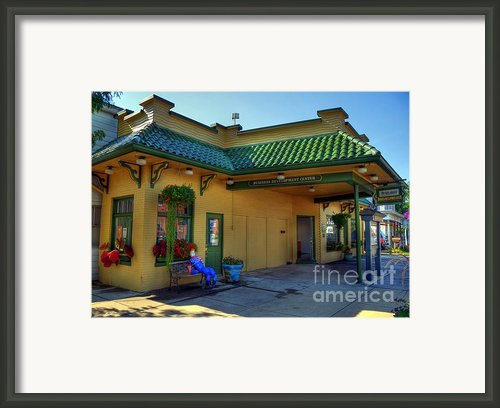 Town Of The Rising Sun  2 Framed Print By Mel Steinhauer