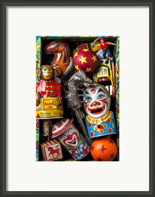 Toy Box Framed Print By Garry Gay