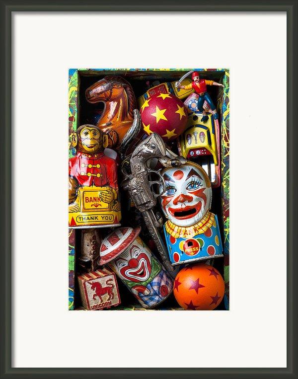 Toy Box Framed Print By Garry Gay