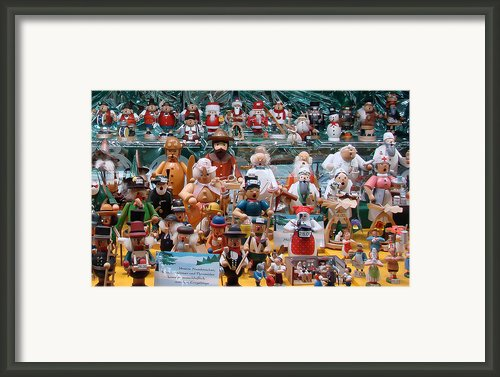 Toys And Nutcrackers For Sale Framed Print By Ronda Broatch