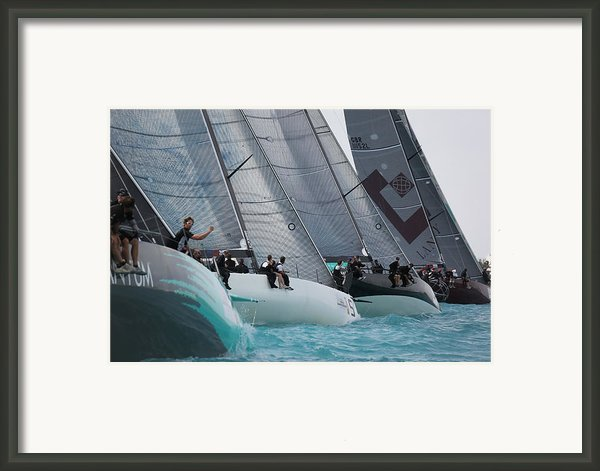 Tp52 Start Framed Print By Steven Lapkin