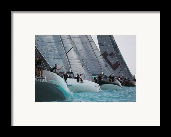 Tp52 Start Framed Print By Steven Lapkin