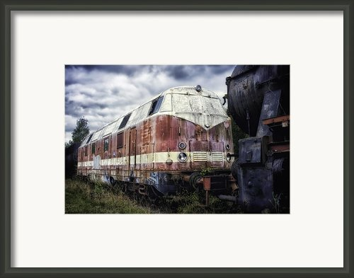 Train Memories Framed Print By Mountain Dreams