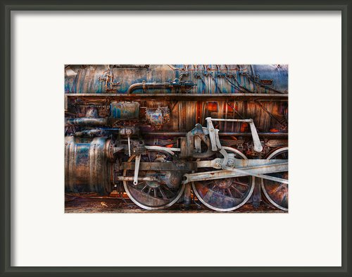 Train - With Age Comes Beauty  Framed Print By Mike Savad