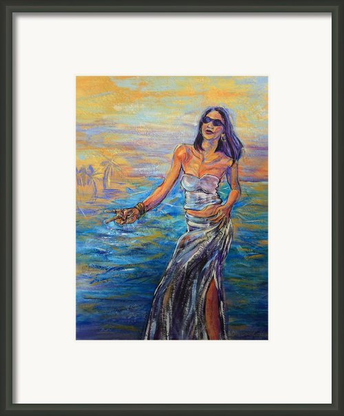 Tranceandance Framed Print By Susi Laforsch