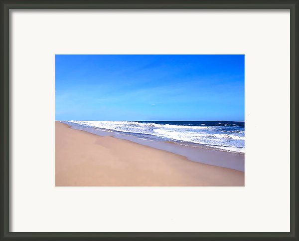 Tranquility     Framed Print By Iconic Images Art Gallery David Pucciarelli