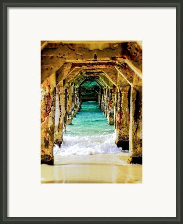 Tranquility Below Framed Print By Karen Wiles