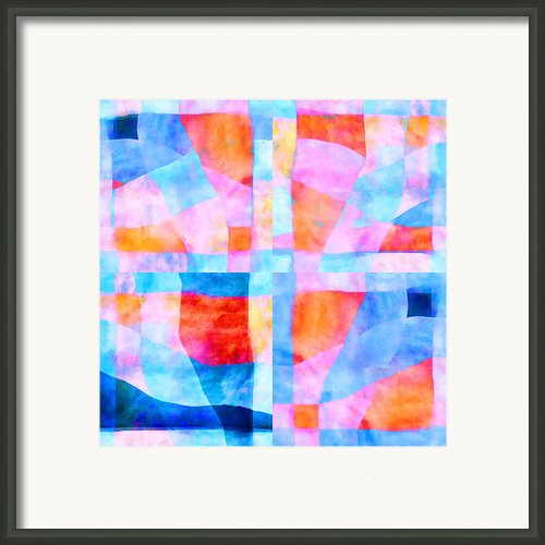 Translucent Quilt Framed Print By Carol Leigh
