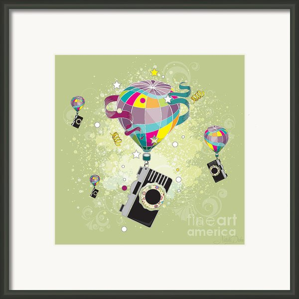Traveling Camera  Framed Print By Disko Galerie