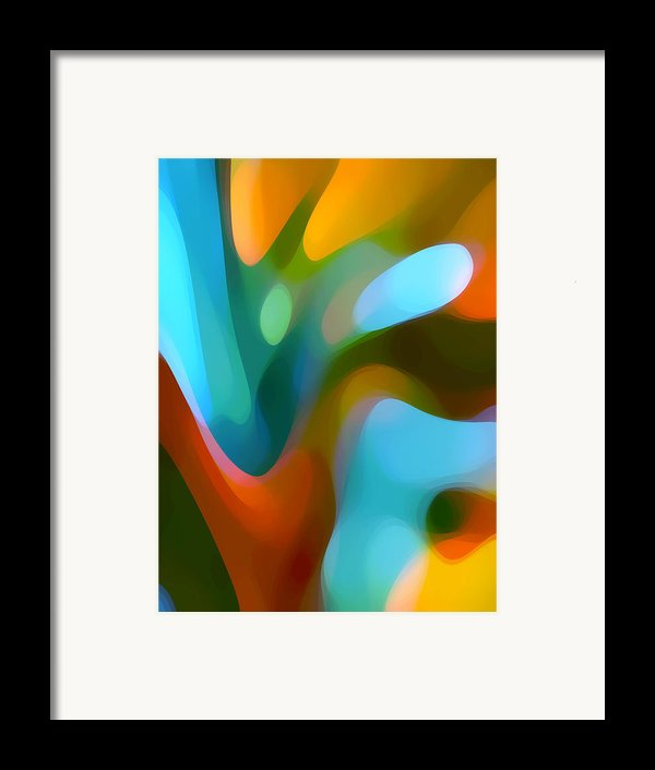 Tree Light 3 Framed Print By Amy Vangsgard