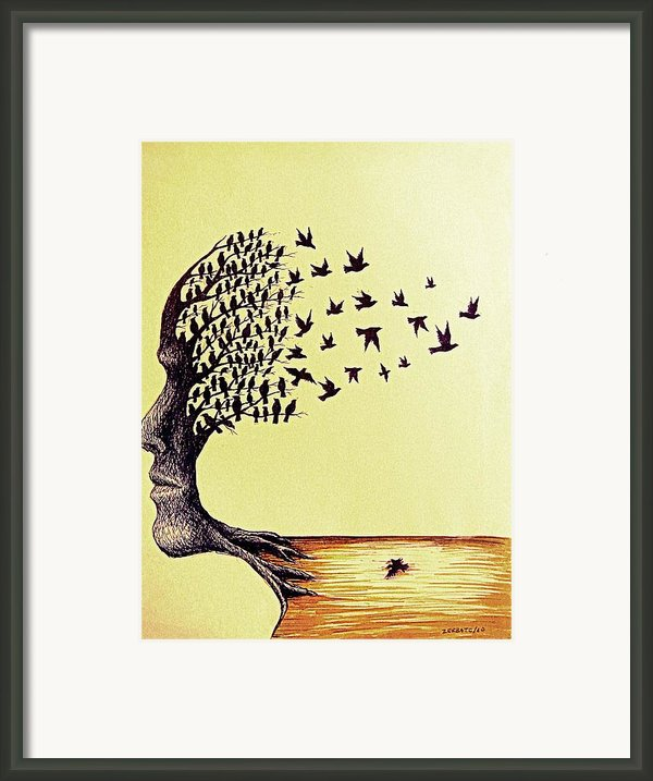 Tree Of Dreams Framed Print By Paulo Zerbato