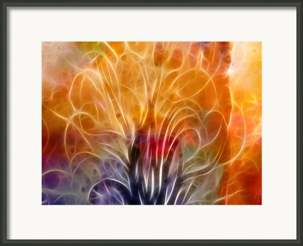 Tree Of Life Framed Print By Ann Croon