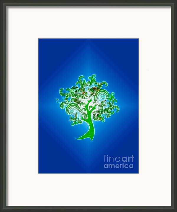 Tree Of Life Framed Print By Cheryl Young