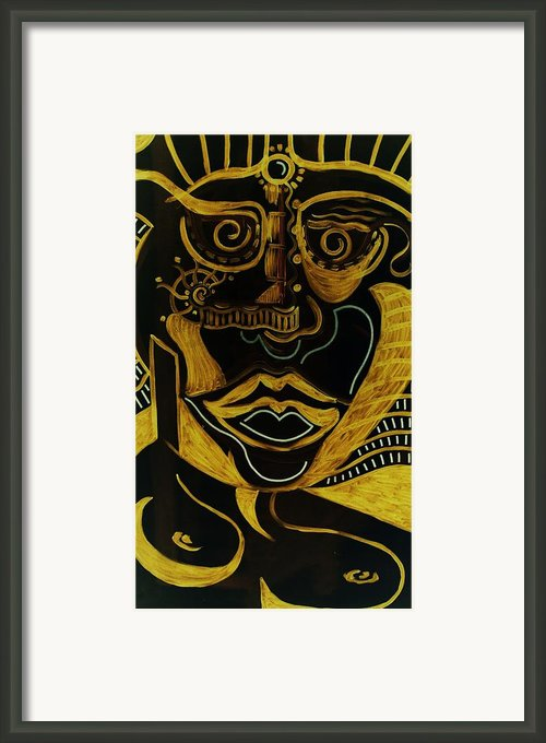 Tribe Framed Print By Michael Kulick