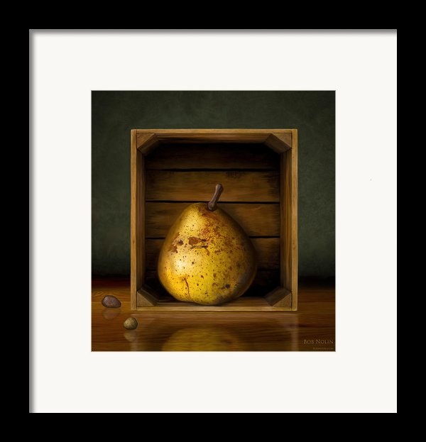 Tribute To Magritte Framed Print By Bob Nolin