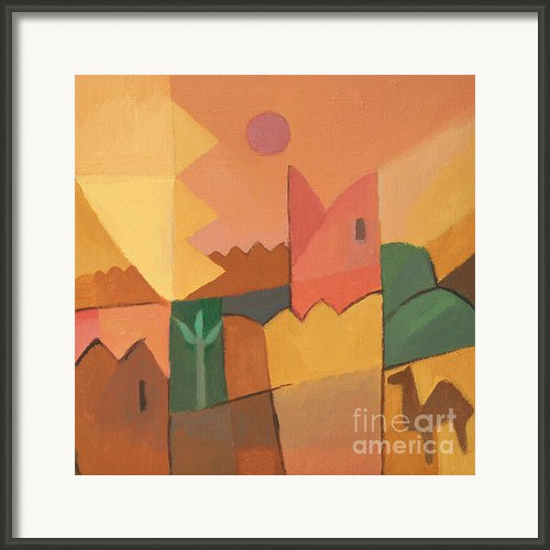 Trip To Tunisia Framed Print By Lutz Baar