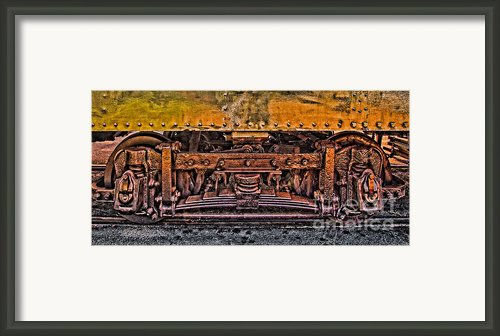 Trolley Train Details Framed Print By Susan Candelario