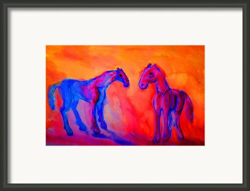Trolls Pack  Framed Print By Hilde Widerberg