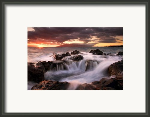 Tropical Cauldron Framed Print By Mike  Dawson