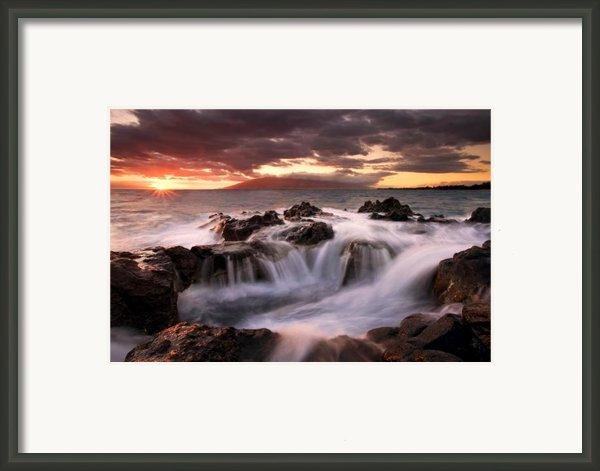 Tropical Cauldron Framed Print By Mike  Dawson