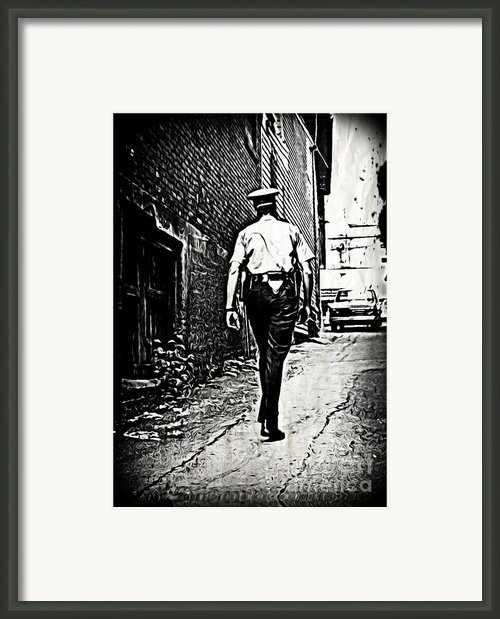 True Grit Framed Print By John Malone