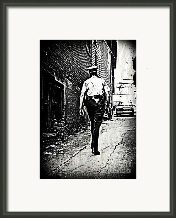 True Grit Framed Print By John Malone