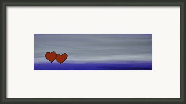 True Love Framed Print By Sharon Cummings