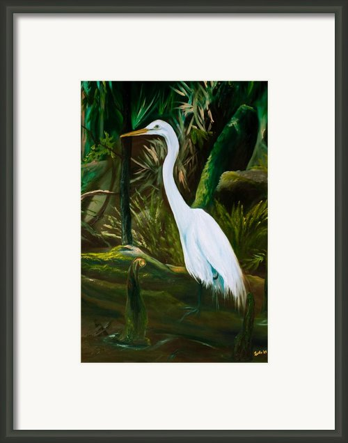 Tucked Away Framed Print By Eve  Wheeler
