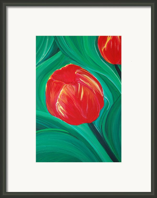 Tulip Diva By Jrr Framed Print By First Star Art