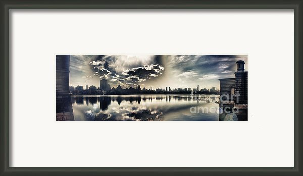 Turbulent Afternoon Framed Print By Nishanth Gopinathan