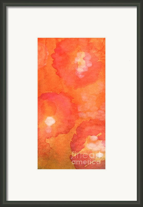 Tuscan Roses Framed Print By Linda Woods