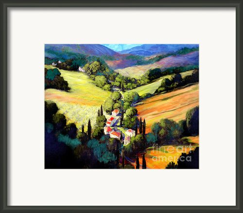 Tuscany Framed Print By Michael Swanson