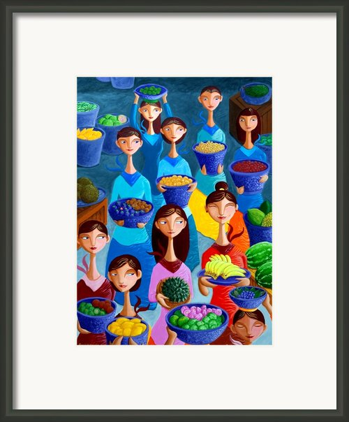 Tutti Frutti Framed Print By Paul Hilario