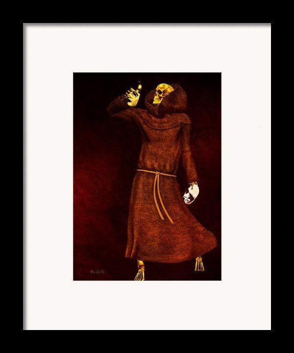 Two Faces Of Death Framed Print By Bob Orsillo