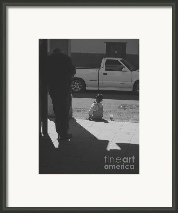 Two Feet Framed Print By Craig Pearson