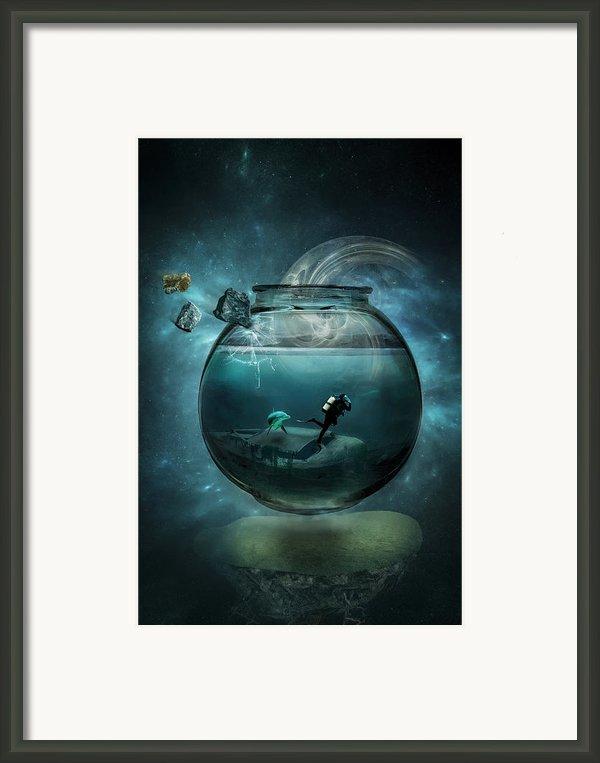 Two Lost Souls Framed Print By Erik Brede