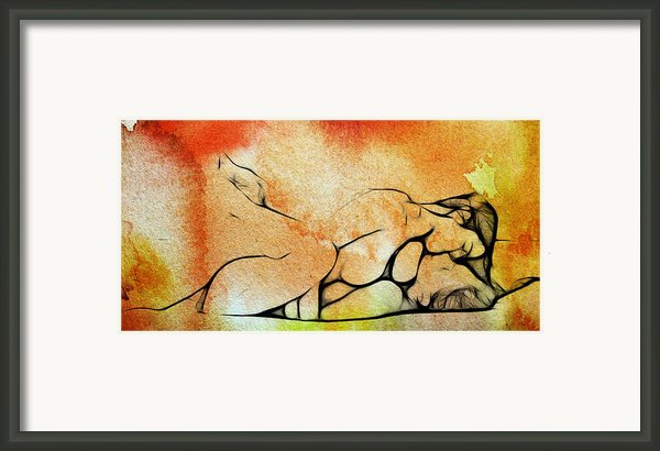 Two Women 2 Framed Print By Stefan Kuhn