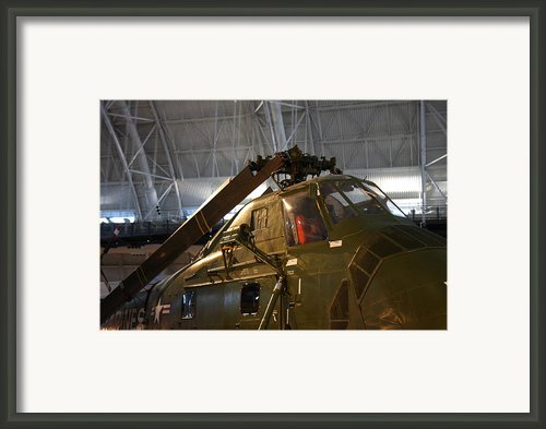 Udvar-hazy Center - Smithsonian National Air And Space Museum Annex - 121220 Framed Print By Dc Photographer