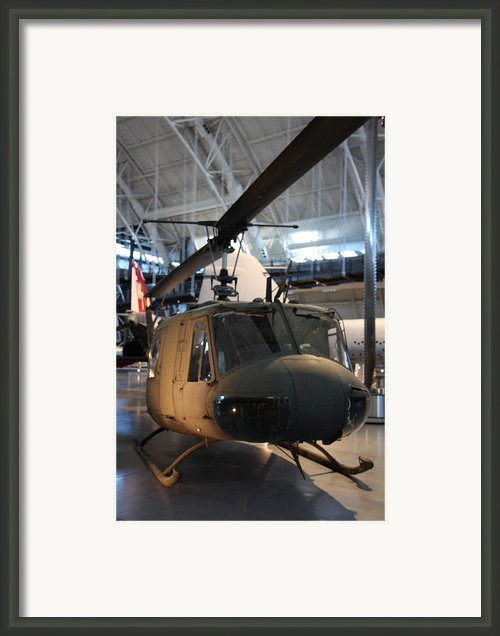 Udvar-hazy Center - Smithsonian National Air And Space Museum Annex - 121223 Framed Print By Dc Photographer